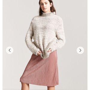 ✨NWTO✨Forever21 Blush accordion skirt